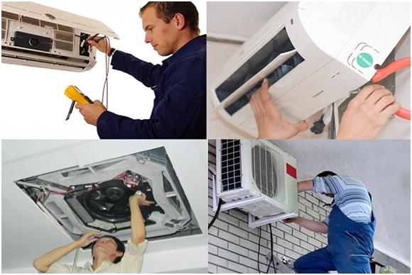 Dịch vụ, thợ sửa chữa máy lạnh GIÁ RẺ-NHANH tại nhà quận Gò Vấp